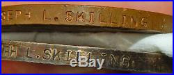 Pioneer AVIATOR Navigator JL SKILLING LOST at SEA 1935 with CPT Ulm = Medals WW1