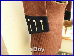 Post WW2 Military London Scottish Kilt Hodden Grey Uniform Medal Bars 8th (5317)