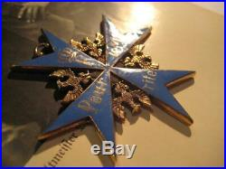 Pour le Merite award juncker highest award WW I Juncker rare medal hard enamel