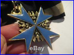 Pour le Merite award wagner highest award WW I 938 rare medal hard enamel