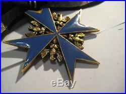 Pour le Meritestamp 938 and ribbon oak leaves highest award WW I antique medal