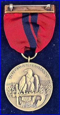 Pre WW I, USN / USMC Dominican Campaign Medal, Serial #271