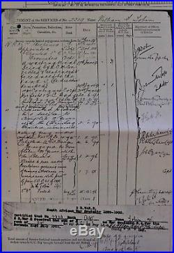 Pre Ww1 DCM Boer War Gallantry & Sudan Campaign Medal Group Warwickshire Regt