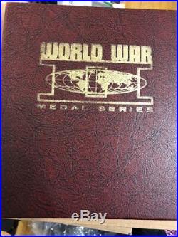 Presidential Art Medals WORLD WAR II Series Bronze Raised Relief 30 Medallion