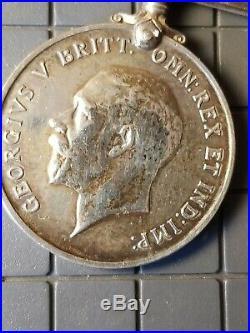 Queen Victoria South Africa Boer War Medal+war Medal +ww1 Star Same Solider