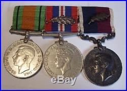 RAF WW2 Medals LSGC MiD Flight Sgt F A RYMILLS