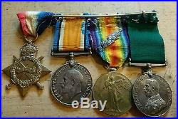 Rare Nurses Medal Group & Husbands Ww1 Medals Famous Singapore Architect