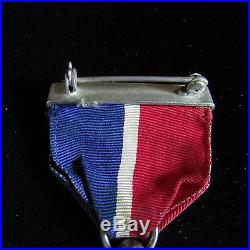 Rare Ww2 Merchant Marine Wrapped Brooch Medal & 14 Other Medals & Insignias