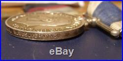 RN Royal Naval long service WW2 medal group GVI HMS Vernon Reginald Ridley