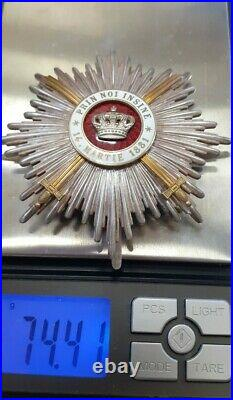 ROMANIA Crown Grand Cross OFFICER Order ROMANIAN medal WAR type 1918 WW1 WWI RRR