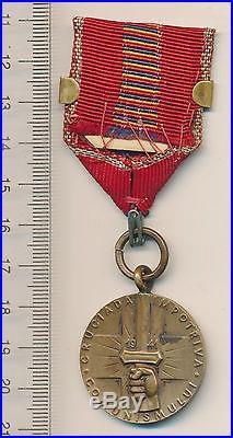 ROMANIA RUSSIA Order 1941 Crusade Against Communism Medal WW2 BUG Clasp BAR RR