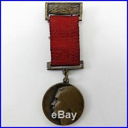 RUSSIAN WW2 PARTISAN MEDAL Elizaveta Chaikina 1918-41 Lisa Liza SOVIET USSR HERO