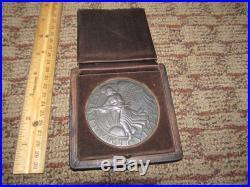 Rare 1919 City Of Detroit Soldiers Memorial World War I Wwi Medal, Paul Manship