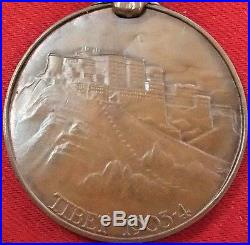 Rare Pre Ww1 British Army Tibet Expedition 1903 Campaign Medal With Gyantse Bar