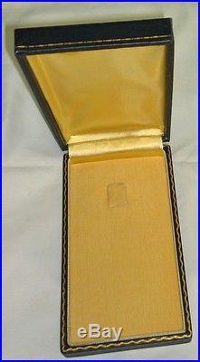 Rare WW2 US Navy Marine Corps Silver Star Medal Short Titled Case USN USMC USCG