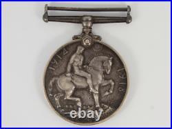Rare WWI Princess Mary Original Christmas 1914 Tin World War I & Medal Gf26