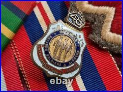 Rare Ww2 Australian Army Nurse Medal Group