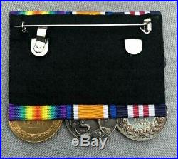 Scarce WW1 Military M. M gallantry medal group 134th F. A RAMC Medical corps