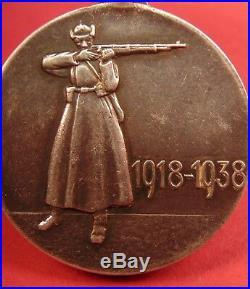 Soviet Russian RKKA 20 Anniversary Medal Red Army 1938 Award pre WW2 ORIGINAL A+