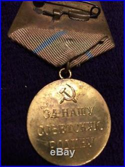 Soviet Russian WW2 Defense of Odessa Military medal award