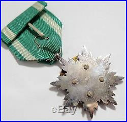 Superb! WW2 5th Class ORDER of GOLDEN KITE MEDAL STERLING SILVER JAPANESE JAPAN
