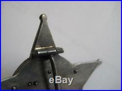The Gallipoli Star award of WW II original award marker mark big size rare medal