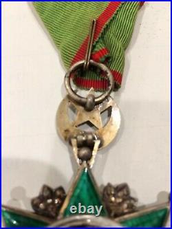 Turkey Ottoman Order Medjidie Knight Star Turkish Military Medal WW1 1914 18