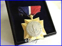 Ultra Scarce Named Wwii World War II Merchant Marine Mariner's Medal + Letter