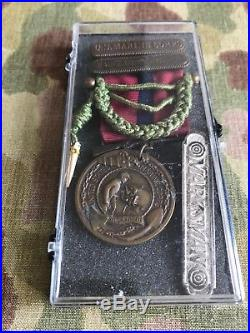 USMC WW1 Named Good Conduct Medal Wounded In Belleau Wood 96th Company 2/6 Rare