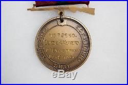US WW1 USMC Marine Corps Named & Numbered Good Conduct Medal. Great Cond! M76
