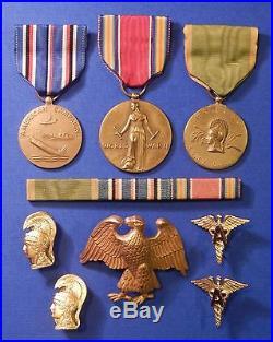 Us Lom Ww2 Korea Medal Group Lt Col Awarded Korean Order Wharang X8118