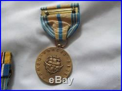 Usn Ww2 Grouping Named Medals Dog Tag Etc Have A Look M1324