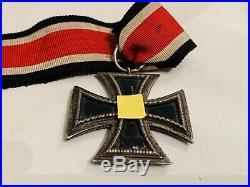 VINTAGE 1813-1939 WW2 Anton Schenkls Nachf GERMAN IRON CROSS METAL L27 Number