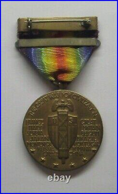 VINTAGE WW I Victory Medal with SIBERIA BAR