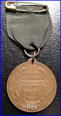 Very rare 1917 Boy Scouts of America World War I Gardening medal