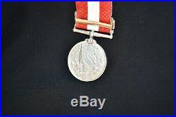 Victorian Fenian Raid Medal Pre-WW1 Original Not Named