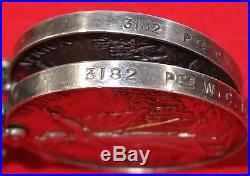 Vintage & Rare Pre Ww1 British Boer War Service Medal Group Townsend West Kents
