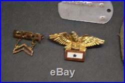 Vintage WW2 PURPLE HEART Medal & Case Authentic Military Issued