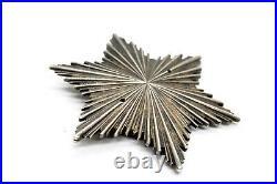 Vintage WW2 WWII German Silver Order Medal Breast Star 1943
