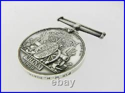 Vtg SVC Shanghai Volunteer Corps British China Silver War Medal 1900 No Ribbon