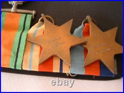 WW11 AUSTRALIAN MEDAL GROUP WX7280 M. G. RYAN 28th BATTALION TOBRUK