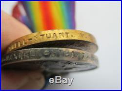 WW1 1914-15 Star Trio Medals MAXWELL-STUART/V. A. D. /Female/Nurse/QAIMNS/RED CROSS
