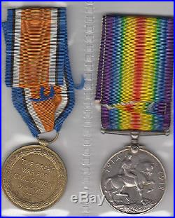 WW1 ANZAC medals Private Issac Robson 2966 from 59th battalion 7th reinforcement