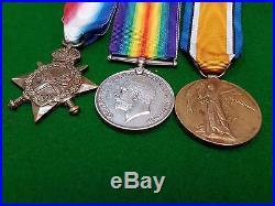 WW1 AUSTRALIAN 7th LIGHT HORSE MEDAL GROUP & MINIATURES