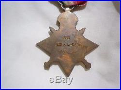 WW1 Australian medal trio. 1914-15 star, BWM, VM. 7/Bn. Wounded Gallipoli