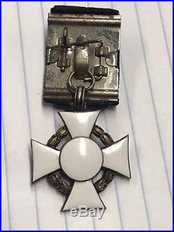 WW1 Austrian Military Merit Cross Badge Hungary Medal WW2 German Army Award