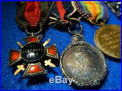 WW1 Brit. RN MINI Medals 7-BarKCMG, DSO, 5-War Med. /GALLIPOLI, CASPIAN, St. VLADIMIR