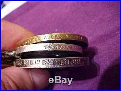 Ww1 Cpl, W. Batten Royal Irish Rifles/royal Irish Fusiliers, Unusual Set Of Medals