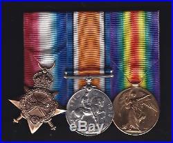 WW1, Camel Corps Officer trio group. Lieut. R S Jenkins