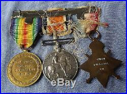 Ww1 Group Of 3 Medals To Captain Oak Leaves Royal Engineers